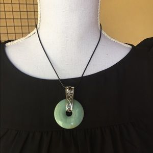 {Couture Warrior}Amazonite Pendant Necklace